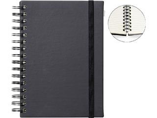 Notitieboek Quantore A5 spiraal zwart