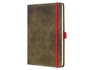 Notitieboek Sigel Conceptum Vintage A5 lijn bruin