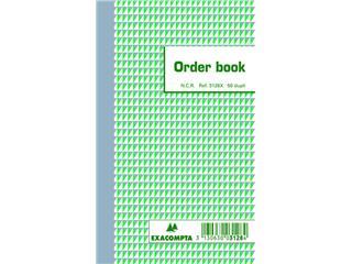 Orderboek Exacompta 175x105mm 50x2vel