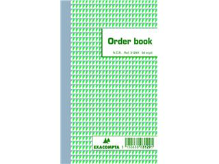 Orderboek Exacompta 175x105mm 50x3vel