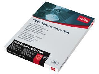 Overheadprojector transparanten Nobo voor kopieermachines 100 stuks
