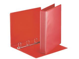 Presentatieringband Esselte A4 4-rings D-mech 25mm rood