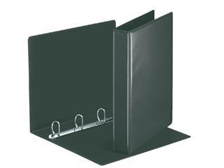 Presentatieringband Esselte Deluxe A4 4-rings D-mech 20mm zwart