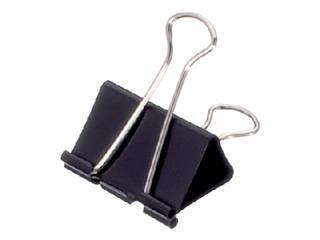 Papierklem MAUL 213 Foldback 41mm capaciteit 19mm zwart