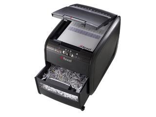 Papiervernietiger Rexel auto+ 90x snippers 4x45mm