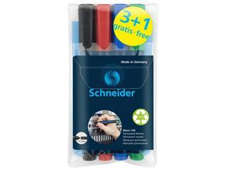 Permanent marker Schneider Max 130 3+1 gratis