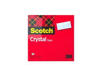 Plakband Scotch Crystal 600 19mmx33m transparant