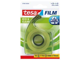 Plakband Tesa 57968 eco&clear 19mmx33m dispenser