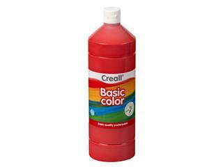 Plakkaatverf Creall basic 07 primair rood 1000 ml