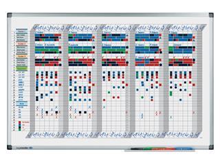 Planbord Legamaster premium dag/week 35 dagen 60x90cm