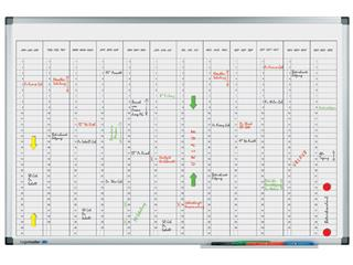 Planbord Legamaster premium jaarplanner verticaal 60x90cm