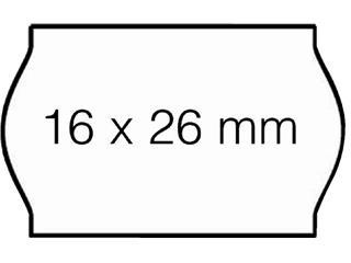 PRIJSETIKET OPEN-DATA VOOR S14 26X16MM N-PERM WIT