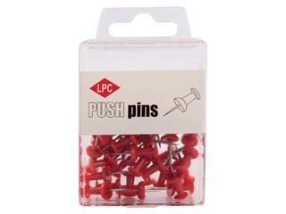 Push pins LPC 40stuks rood