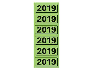 Rugetiket Elba 2019 57x25mm groen