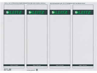 Rugetiket Leitz breed/kort 62x192mm zelfklevend wit