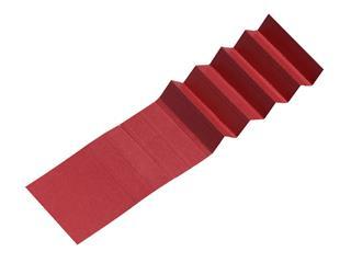 Ruiterstrook voor Alzicht hangmappen 65mm rood