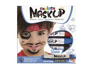 Schminkstift Carioca make-up carnaval set à 3 kleuren