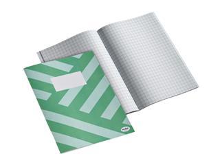 Schrift Multo A4 80vel ruit groen