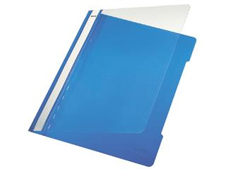 Snelhechter Leitz 4191 A4 PVC blauw