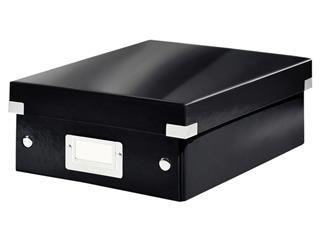 Sorteerbox Leitz WOW Click & Store 220x100x282mm zwart