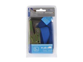 Spanband ProPlus blauw met ratel 5m
