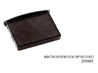 Stempelkussen Colop 6E/2300 zwart