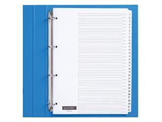 Tabbladen Quantore 4-gaats 1-31 genummerd wit karton