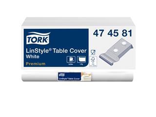 Tafellaken Tork 474581 LinStyle 120cmx20m wit