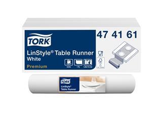 Tafelloper Tork 474161 LinStyle 120cmx40cm wit