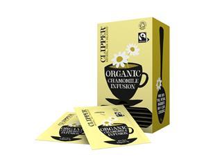 Thee Clipper Fairtrade Infusion Chamomile bio 25stuks