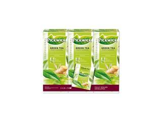 Thee Pickwick groene thee ginger lemon