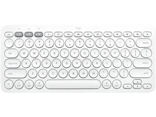 Toetsenbord Logitech K380 Bluetooth QWERTY wit