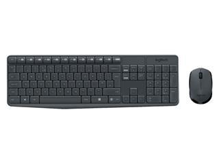 Toetsenbord Logitech MK235 Qwerty +muis zwart