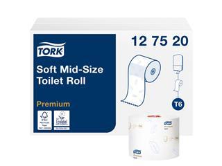 TOILETPAPIER TORK T6 PREMIUM 2L 90M 27ROL 127520