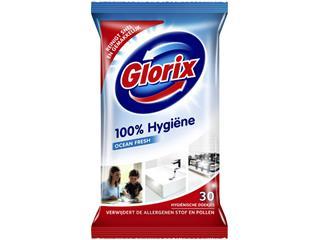 Sanitairreiniger Glorix 30 hygiene doekjes