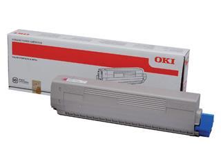 Toner Oki 44844614 rood