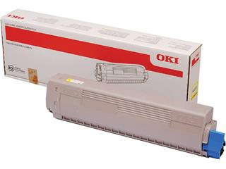 Toner Oki 45862814 geel