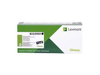 Tonercartridge Lexmark B222H00 zwart