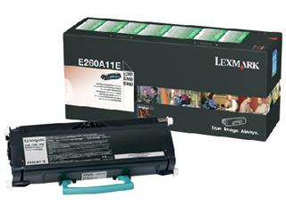 Tonercartridge Lexmark E260A11E prebate zwart