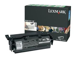 Tonercartridge Lexmark X651H11E prebate zwart HC