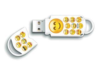 USB-Stick 2.0 Integral Xpression 16GB Emoji