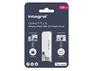 USB-STICK INTEGRAL 128GB 3.0 I-SHUTTLE