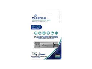 USB-stick 3.0 MediaRange USB-C 64GB