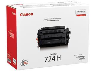 Tonercartridge Canon 724H zwart HC