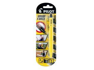 Balpen PILOT Down Force 0,25mm geel