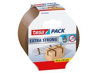 Verpakkingstape Tesa 05050 extra strong 50mmx66m bruin