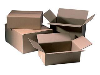 Verzenddoos CleverPack bulk 305x220x150mm bruin 20stuks