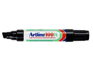 Viltstift Artline 100 schuin 7.5-12mm zwart
