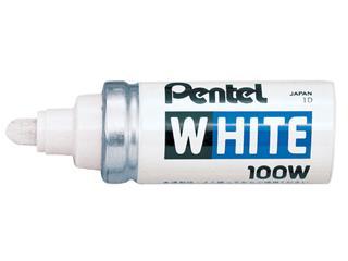 VILTSTIFT PENTEL 100W LAK ROND 4MM WIT