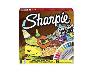 Viltstift Sharpie fun neushoorn special edition box à 20 stuks